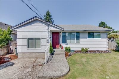 Tacoma Single Family Home For Sale: 6822 S Yakima St