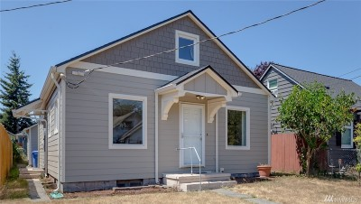 Tacoma Single Family Home For Sale: 5620 S Lawrence St