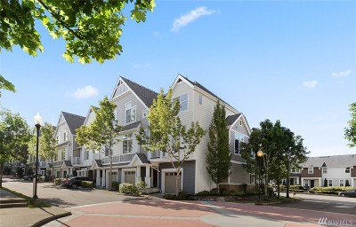 Issaquah Condo/Townhouse For Sale: 1415 Huckleberry Cir