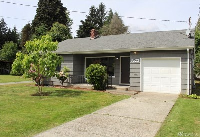 Tumwater Single Family Home For Sale: 3523 Quince St SE