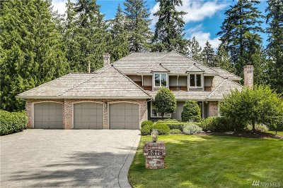 Redmond Single Family Home For Sale: 7318 233rd Place NE