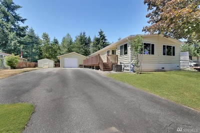 Bonney Lake WA Single Family Home For Sale: $259,900