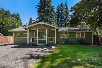 Woodinville Single Family Home For Sale: 17512 199th Ave NE