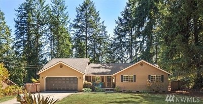 Gig Harbor Single Family Home For Sale: 8704 46th St NW