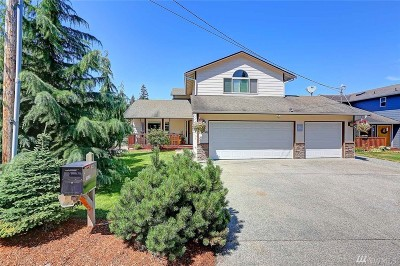 Stanwood Single Family Home For Sale: 18526 96th Ave NW