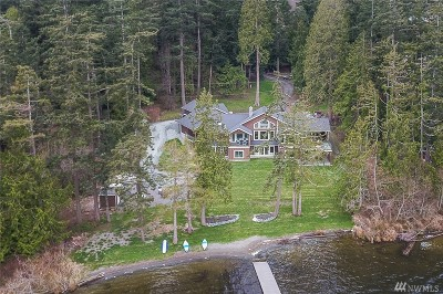 Anacortes, La Conner Single Family Home Contingent: 4456 Wildwood Lane