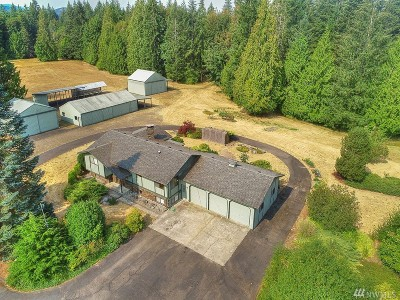 Thurston County Single Family Home For Sale: 4641 Steamboat Island Rd NW