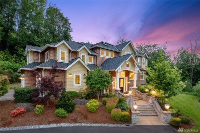 Issaquah Single Family Home Contingent: 26709 SE Old Black Nugget Rd