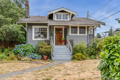 Seattle Single Family Home For Sale: 4515 S Holden St