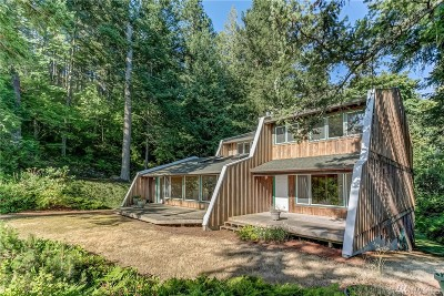 Lummi Island Single Family Home For Sale: 1471 Seacrest Dr