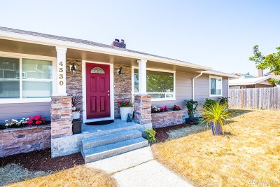 Tacoma Single Family Home For Sale: 4330 S Warner St