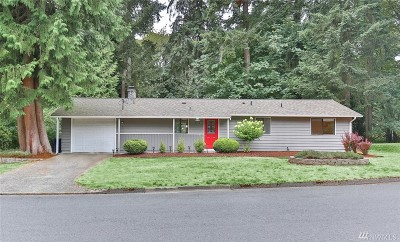 Newcastle Single Family Home For Sale: 8913 121st Ave SE