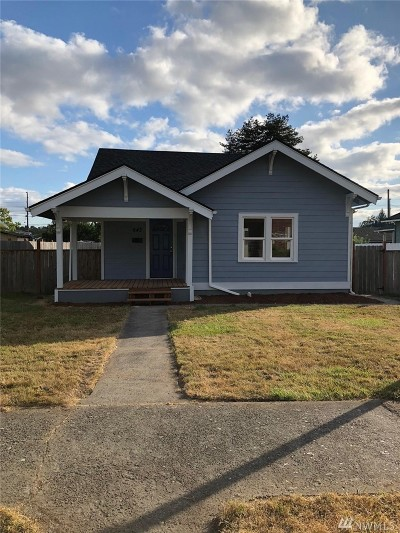 Chehalis Single Family Home For Sale: 643 SW Cascade Ave