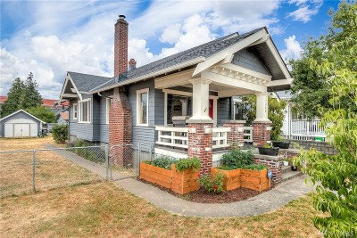 Tacoma Single Family Home For Sale: 3628 Tacoma Ave S