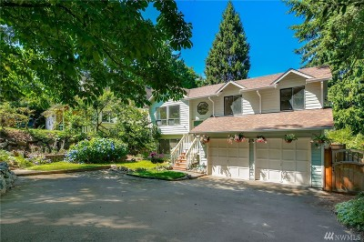 Shoreline Single Family Home For Sale: 1632 NE Perkins Wy