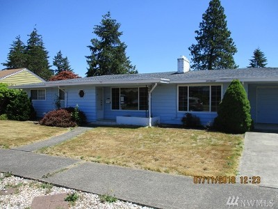 Tacoma Single Family Home For Sale: 6547 S K St