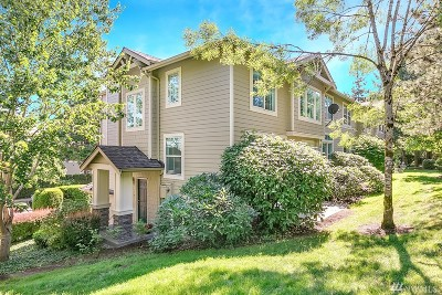 Issaquah Condo/Townhouse For Sale: 2206 Newport Wy NW #20-4