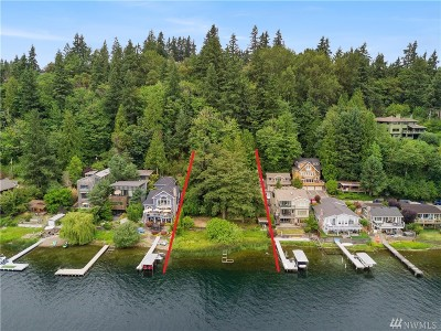 Bellevue Single Family Home For Sale: 1440 W Lake Sammamish Pkwy NE