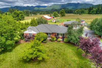 Enumclaw Single Family Home For Sale: 42524 284th Ave SE