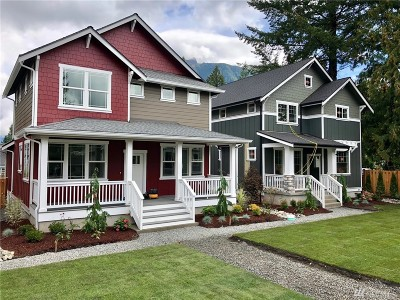 North Bend, Snoqualmie Single Family Home For Sale: 234 E 2nd St