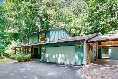 Lake Forest Park Single Family Home For Sale: 4640 NE 187th Place