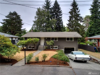 Seattle Single Family Home For Sale: 10616 32nd Ave SW