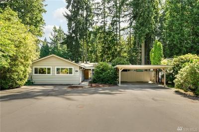 Kirkland Single Family Home For Sale: 12225 NE 62nd St