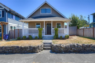 Tacoma Single Family Home For Sale: 4925 N Bristol St