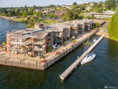 Kirkland Condo/Townhouse For Sale: 5535 Lake Washington Blvd NE #201
