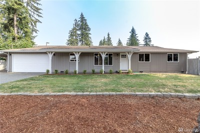 Bonney Lake Single Family Home For Sale: 19429 W Tapps Dr E