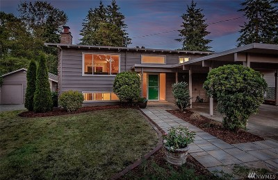 Seattle WA Single Family Home Sold: $530,000
