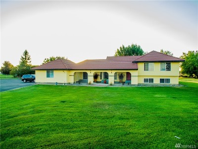 Moses Lake Single Family Home For Sale: 9974 Baseline .3 NE