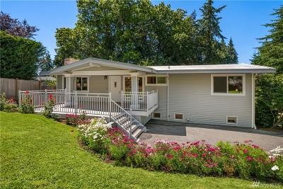 Mercer Island Single Family Home For Sale: 4340 Island Crest Way