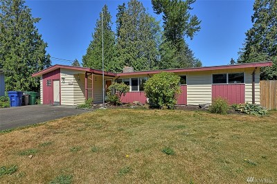 Lynnwood Single Family Home For Sale: 2525 202nd Place SW