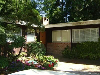 Shoreline Single Family Home For Sale: 16750 3rd Ave NE