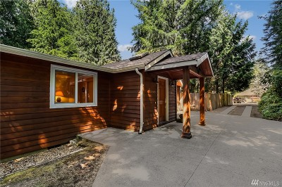Woodinville Single Family Home For Sale: 16415 209th Ave NE