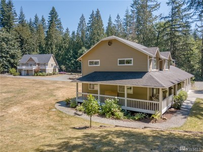 Maple Valley Single Family Home Contingent: 19292 Lake Francis Rd SE
