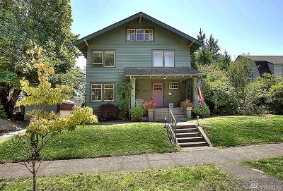 Tacoma Single Family Home For Sale: 4412 N 37th St