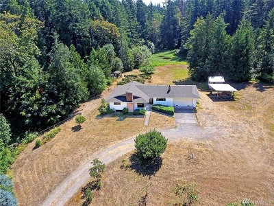 Stanwood Single Family Home For Sale: 19125 Marine Dr