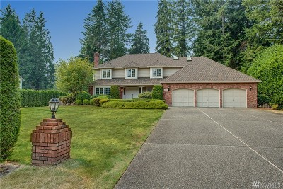 Woodinville Single Family Home For Sale: 18729 222nd Wy NE