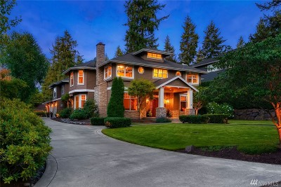 Bellevue Single Family Home For Sale: 2138 104th Place SE