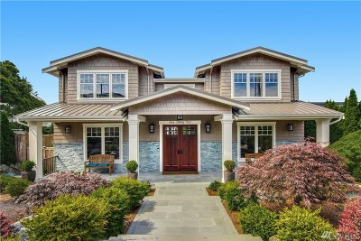 Kirkland Single Family Home For Sale: 539 14th Ave W