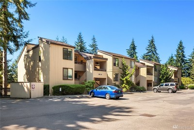 Bellevue Condo/Townhouse For Sale: 3518 109th Place NE #336