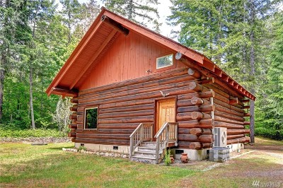 Mason County Single Family Home Contingent: 541 N Duckabush Dr N