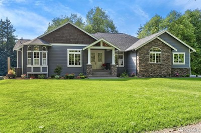 Snohomish Single Family Home Contingent: 15013 Ok Mill Rd