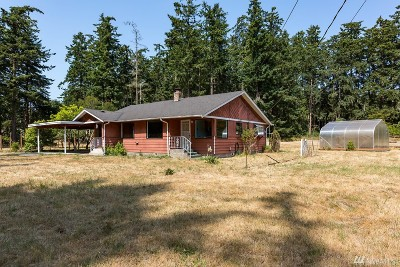 Coupeville Single Family Home Contingent: 259 Fort Casey Rd