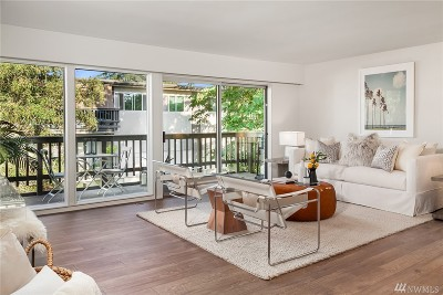 Mercer Island Condo/Townhouse Sold: 2500 81st Ave SE #133