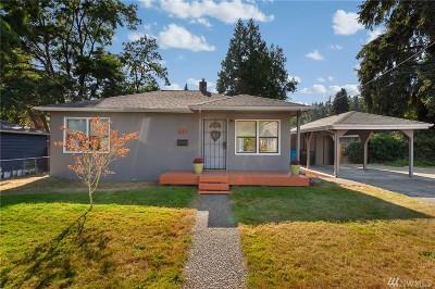 Shoreline Single Family Home For Sale: 16317 26th Ave NE