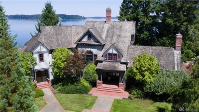 Thurston County Single Family Home Contingent: 7606 Andrews Beach Rd NE