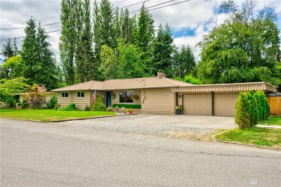 Sedro Woolley Single Family Home Sold: 392 Carter St